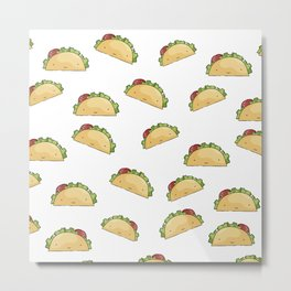 Too many tacos Metal Print