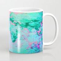 wanderlust Mugs featuring Wanderlust by ALLY COXON