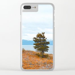 Lone tree Clear iPhone Case