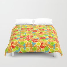 Sweet 'n' Sour  Duvet Cover