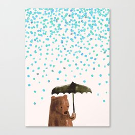 Rain rain go away Canvas Print