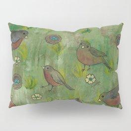 Heralds of Spring Pillow Sham