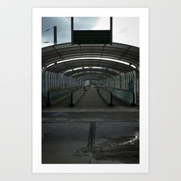 Empty City Art Print