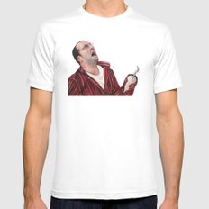 Arrested Development Buster Bluth SMALL White Mens Fitted Tee