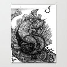Fishkey Canvas Print
