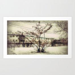 Southside Scenery Art Print