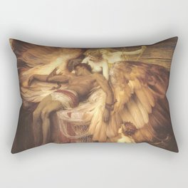 The Lament For Icarus By Herbert James Draper Rectangular Pillow