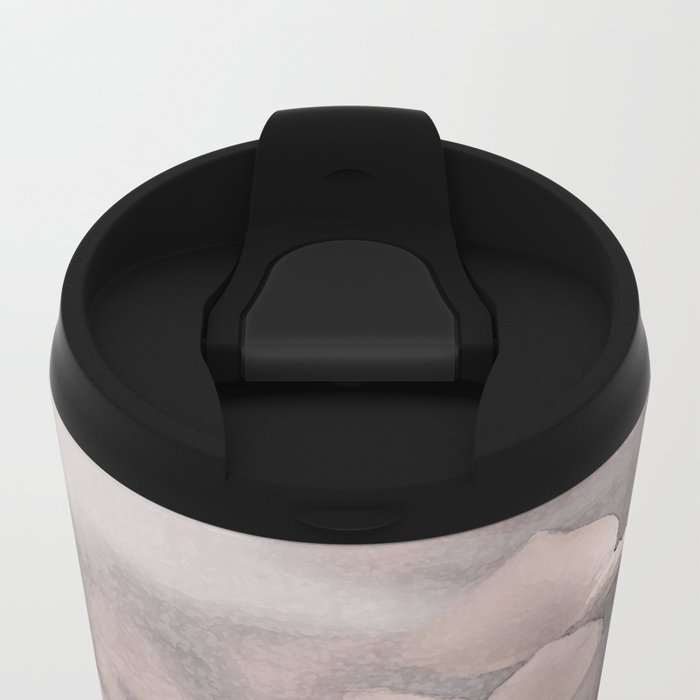 Faded Beauty Metal Travel Mug