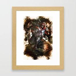 League of Legends ZED Framed Art Print