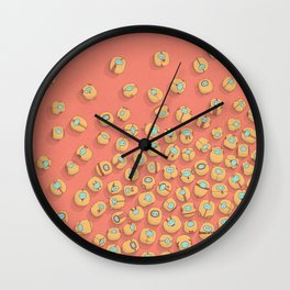 microrobots Wall Clock
