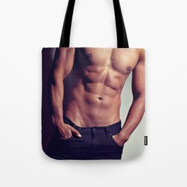 Very sexy man with great body Tote Bag