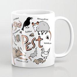 Pest Coffee Mug