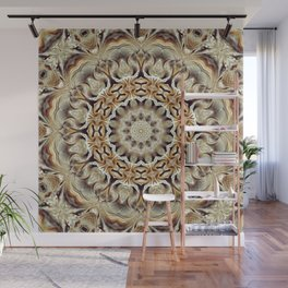 Flower Of Life Mandala (Close To Nature) Wall Mural