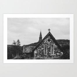 Old Ireland Church 2 Art Print