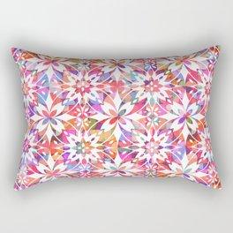 Mediterranean Tiles N.02 / Colorful Summer Festival Rectangular Pillow