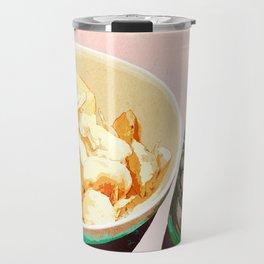 Potato chips and Heineken Travel Mug