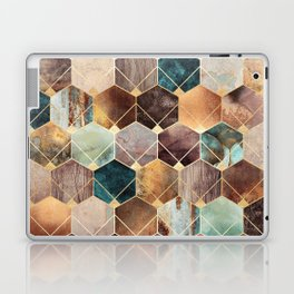 Natural Hexagons And Diamonds Laptop & iPad Skin