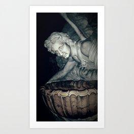 The Angel of GOD Art Print
