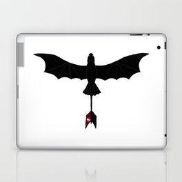 Black Toothless Laptop & iPad Skin