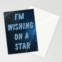 I'm wishing on a Star - 50 Years Moonlanding Stationery Cards
