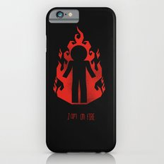 on fire Slim Case iPhone 6s