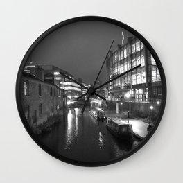 Broad St Reflections Wall Clock
