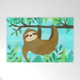 Cute Sloth Welcome Mat