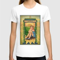 amy pond T-shirts featuring Amy Pond Art Nouveau by rointheta