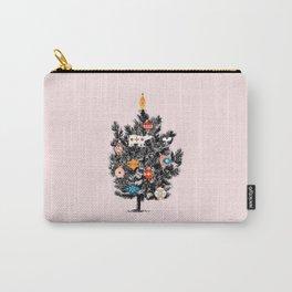 Retro Christmas tree no3 Carry-All Pouch