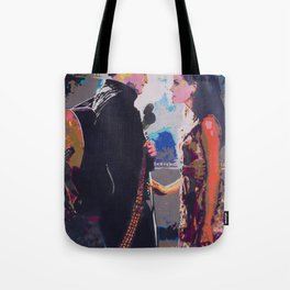 Johnny and June Tote Bag