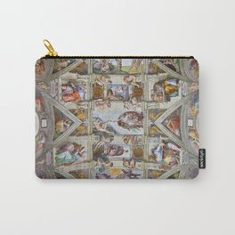 """Michelangelo """"Sistine Chapel ceiling"""", Carry-All Pouch"""