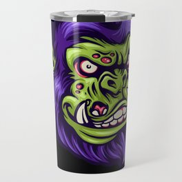 Angry Gorilla Monster Travel Mug