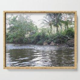 Where the River Runs Serving Tray