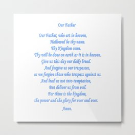 Our Father Metal Print