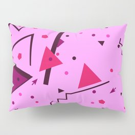 Pink Error Pillow Sham