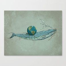 Save the Planet II Canvas Print