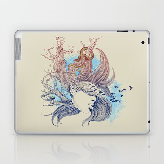 Tree Girl Laptop & iPad Skin