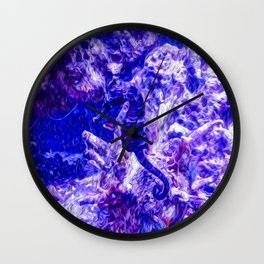 Find the Seahorse Wall Clock