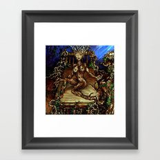 Sprouting Wood  Framed Art Print