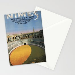 retro Nimes Stationery Cards