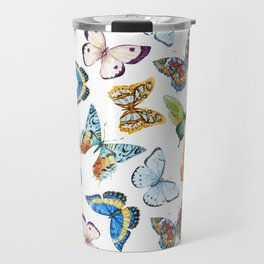 Butterfly Pattern 02 Travel Mug