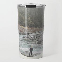nature is waiting Travel Mug