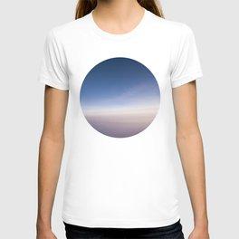 silent morning above Java T-shirt