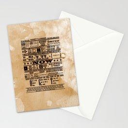 Rocky Raccoon Stationery Cards