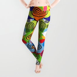 eyes without a face Leggings