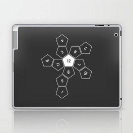 Grey Unrolled D12 Laptop & iPad Skin