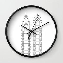 Liberty 1 Liberty 2 Wall Clock