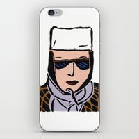 cassandra jean iPhone & iPod Skins featuring Jean by Shelley Savor