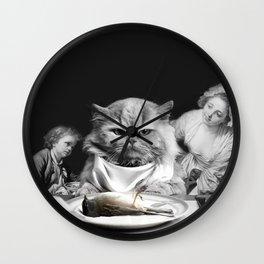 CAT DINER Wall Clock