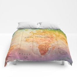 Color your World Comforters